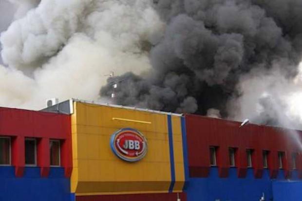 Pożar zakładów mięsnych JBB w Łysych - śledztwo umorzone