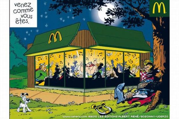 Reklama McDonald's z Asteriksem zirytowała internautów