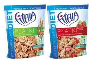 Nowa Fitella bez cukru, z pełnego ziarna pszenicy