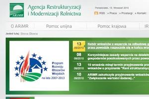 ARiMR: prawie 11,3 tys. wniosków o przyznanie renty strukturalnej