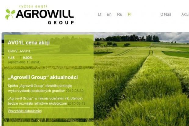 Litewska grupa rolnicza Agrowill chce przejmować w Polsce