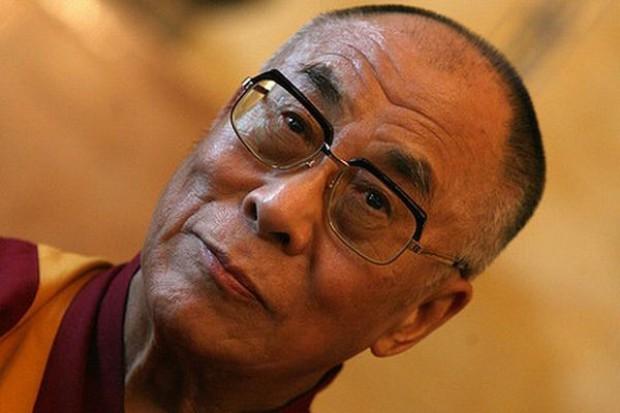 Dalajlama zwiedził wystawę