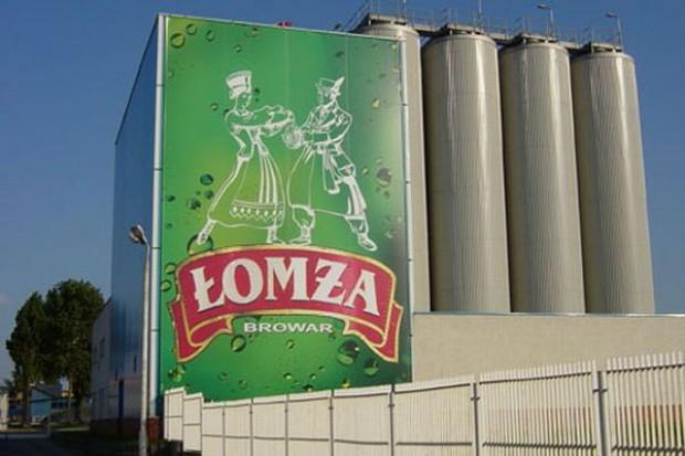 Mimo spadków obrotów w branży piwnej, sprzedaż Łomży wzrosła o 30 proc.