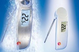 Termometry testo 103 i testo 104 do szybkiej i wiarygodnej kontroli temperatury produktów spożywczych