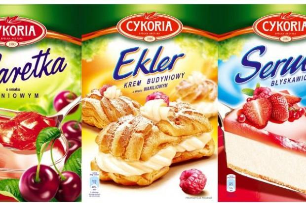 Galaretki, ciasta i kremy w nowej ofercie Cykorii