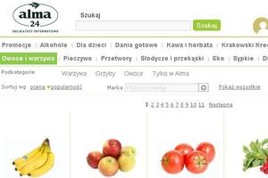 Sieć Alma prognozuje 33 mln zł przychodów z działalności internetowej