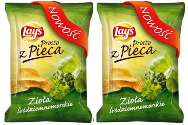Nowy, śródziemnomorski smak chipsów Lay's Prosto z Pieca