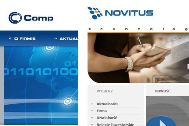 Comp przejmie Novitusa - jest już list intencyjny