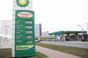 Koncern BP chce otwierać w Polsce kilkadziesiąt nowych stacji rocznie