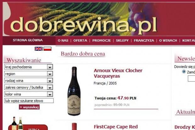 Sieć Dobrewina.pl chce w pięć lat mieć 100 sklepów
