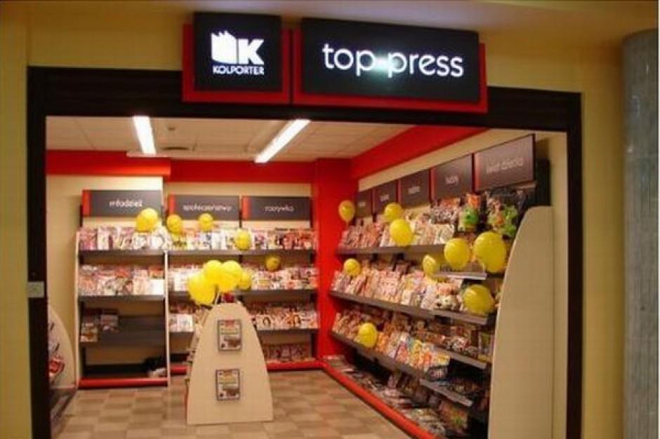 W 2010 r. Kolporter uruchomił 50 saloników Top-Press, w 2011 r. otworzy drugie tyle