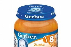 Gerber zmieni recepturę dań w słoiczkach dla dzieci