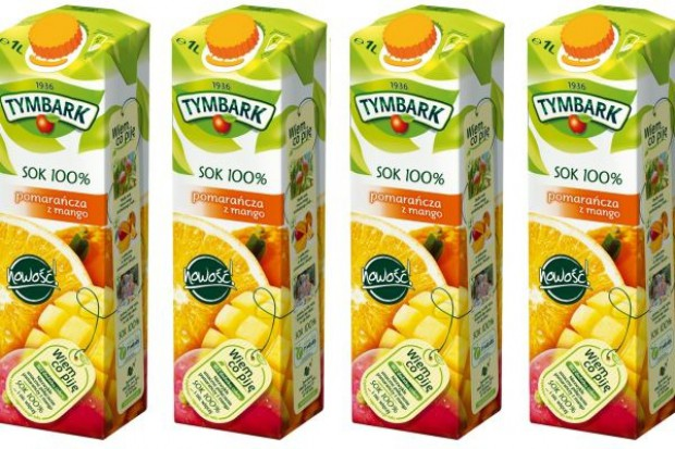 Pomarańcza z mango w ofercie Tymbarku