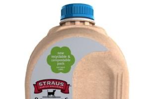 Sieci handlowe testują papierowe butelki na mleko
