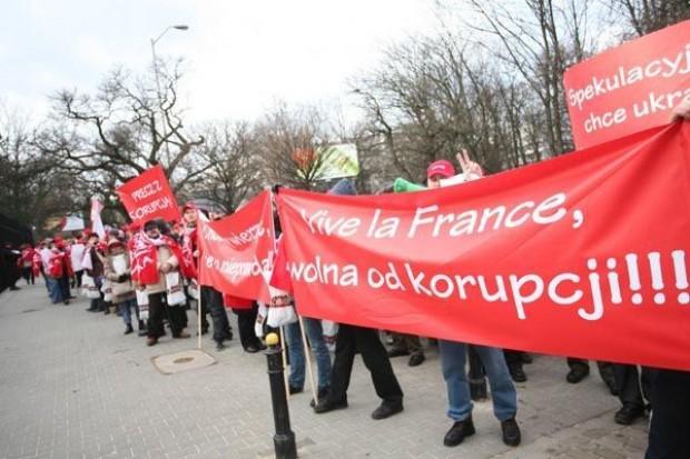 Protest pracowników Grupy Belvedere. Firmie grozi rozwiązanie planu naprawczego