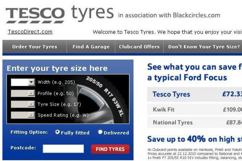 Sieć Tesco chce sprzedawać używane samochody