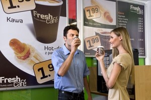 Sieć Żabka ma już 60 kawiarni Freshcafe