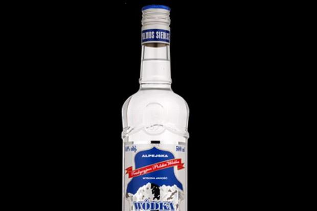 Siedlecki Polmos nie może już produkować wódki Alpejskiej