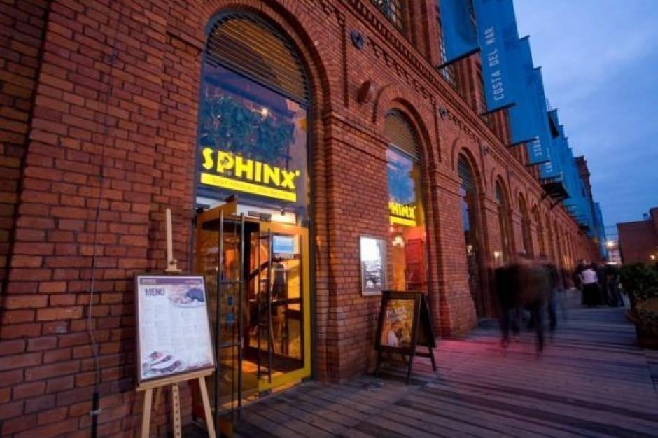 W tym roku Sfinks otworzy około 40 restauracji własnych i franczyzowych