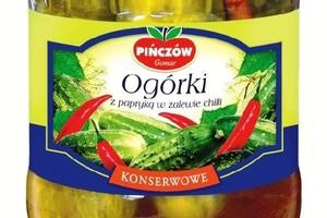 Ogórki konserwowe od firmy Gomar Pińczów