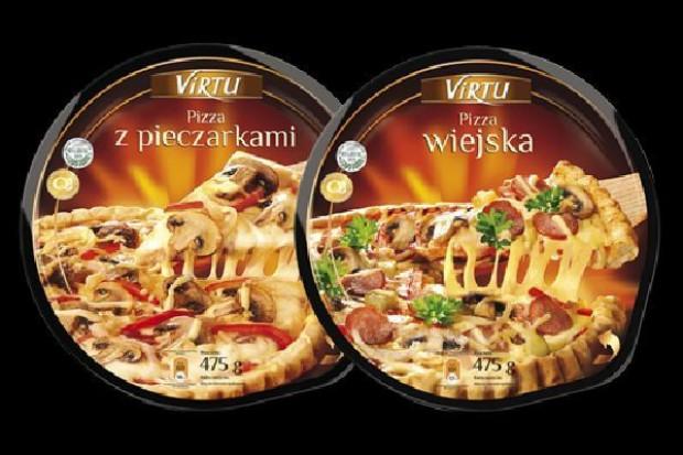 Pizza Virtu w nowym opakowaniu