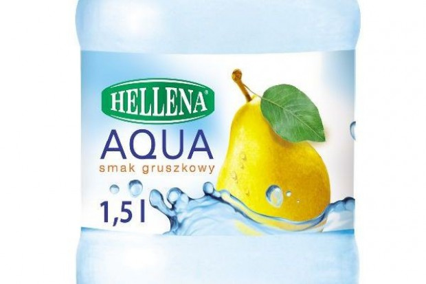 Nowa woda Hellena o smaku gruszki
