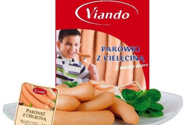 Parówki z dodatkiem cielęciny od Viando