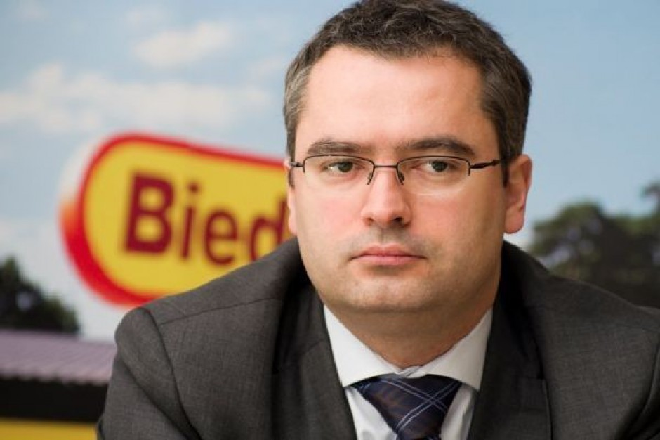 Dyrektor generalny Biedronki: chcemy mieć 3 tys. sklepów w 2015 roku