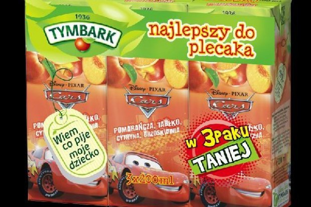 Nowe opakowania i smaki Tymbarku dla dzieci