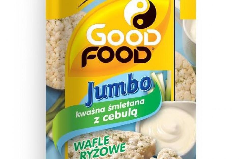 Wafle Good Food Jumbo w nowych opakowaniach