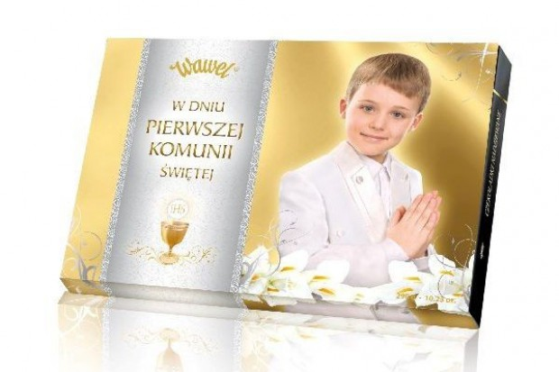 Słodycze marki Wawel na Komunię