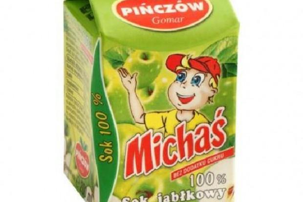 Gomar Pińczów wprowadza na rynek soki dla dzieci w kartonikach