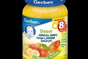 Nowe obiadki i desery dla dzieci w ofercie Gerbera