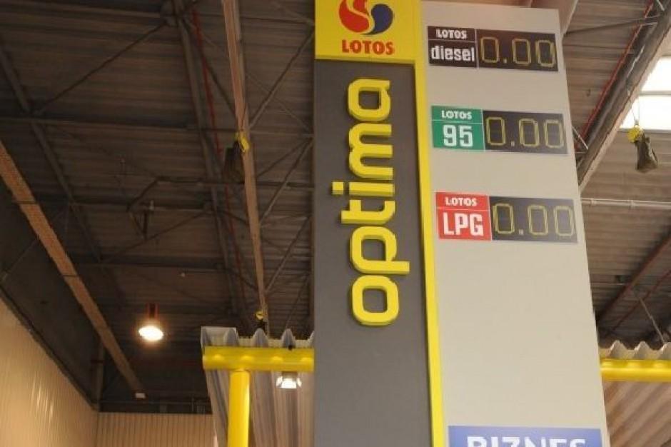 Grupa Lotos chce uruchomić w 5 lat 130 stacji Lotos Optima