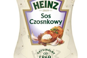 Sos czosnkowy od Heinz