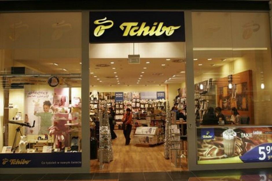 Tchibo zamierza zreorganizować sieć sklepów
