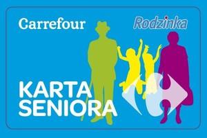 Sieć Carrefour wprowadza Karty Seniora