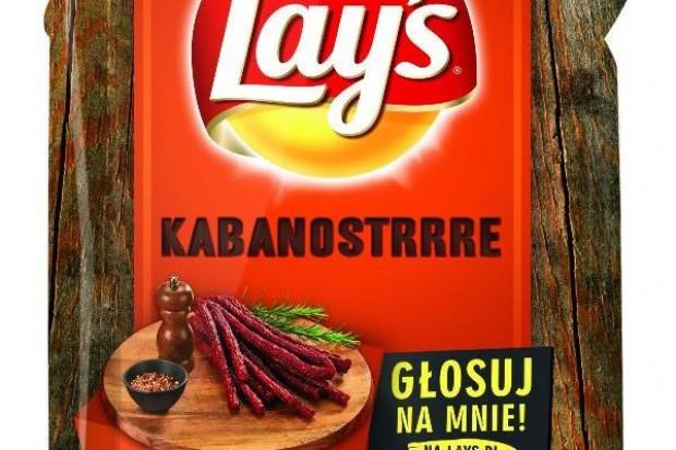 Chipsy Lay's o smaku kabanosa