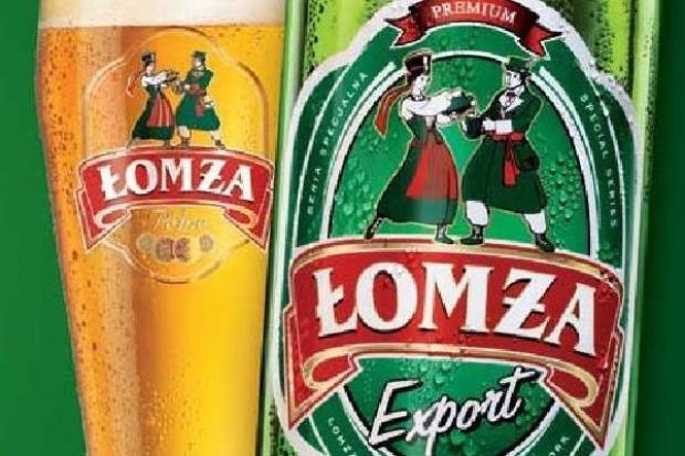Sprzedaż piwa Łomża o połowę większa niż przed rokiem