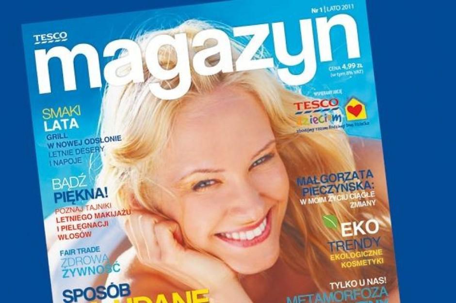 Sieć Tesco wprowadza na Polski rynek własny magazyn lifestylowy