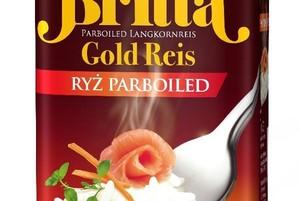 Ryż Gold Parboiled marki Britta w nowym opakowaniu