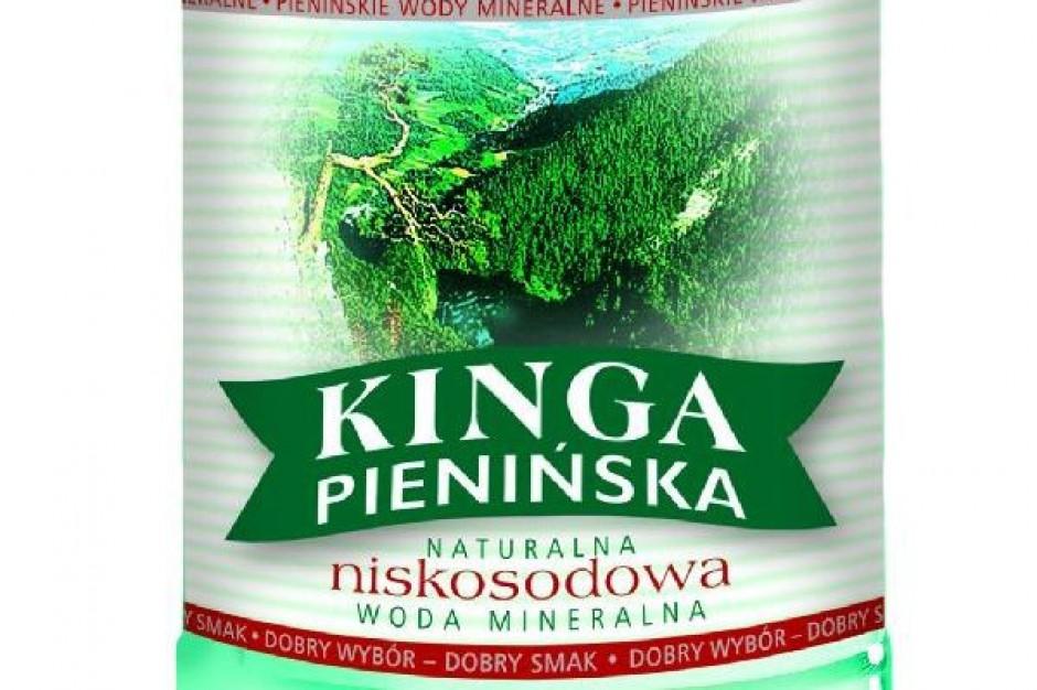 Sprzedaż wody Kinga Pienińska rośnie 20 proc. rdr