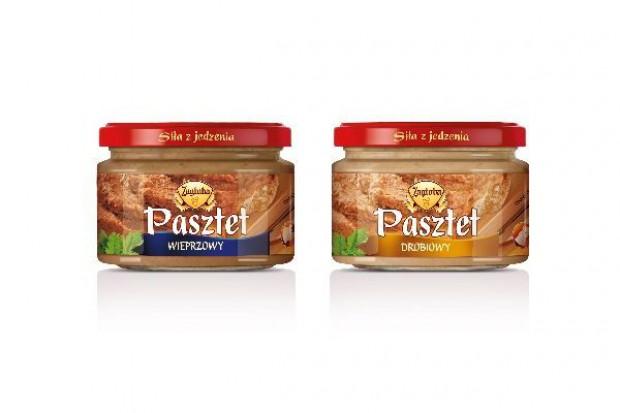 Nowe pasztety i smalce do chleba z linii tradycyjnych dań Zagłoba