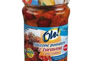 Nowa przekąska marki OLE! Z suszonymi pomidorami