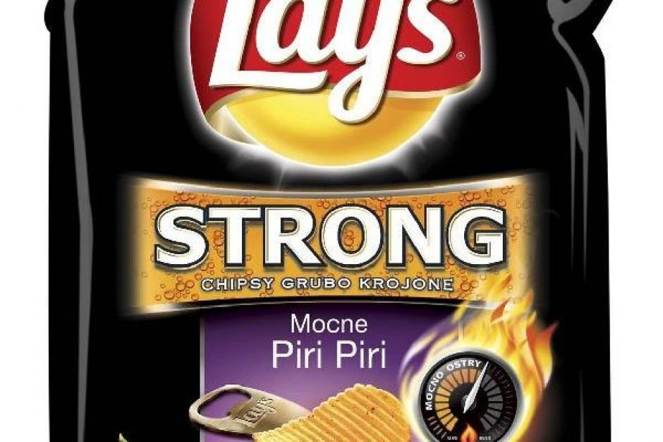 Chipsy Lay's w ostrzejszej wersji