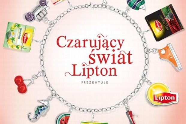 Promocyjna loteria marki Lipton