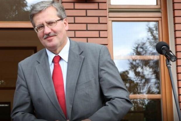 Bronisław Komorowski rozpoczął wizytę w Berlinie