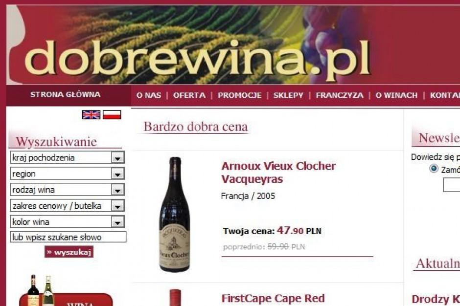 Sieć dobrewina.pl otworzy w tym roku jeszcze 5-6 sklepów