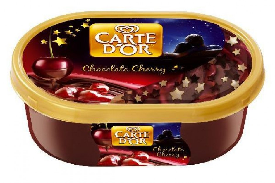 Carte d'Or Chocolate Cherry z likierem wiśniowym