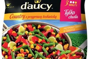 Śródziemnomorskie mieszanki warzywne w ofercie d'aucy